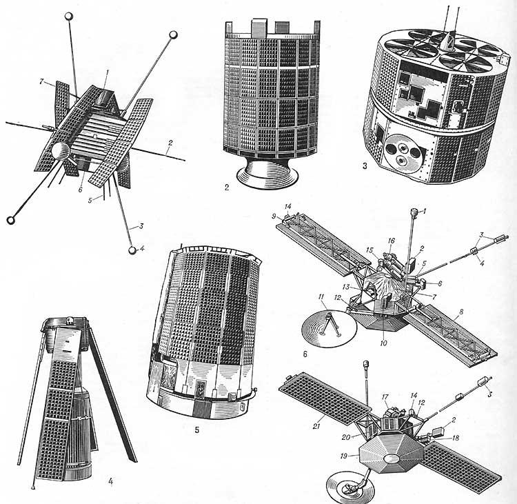 Первый из трех спутников «Биг
